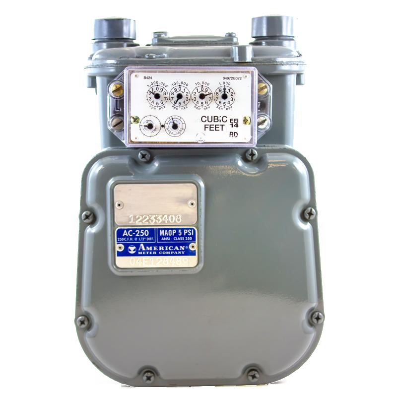 Home Gas Meter And Meter In Water : Elster american meters energy economics inc